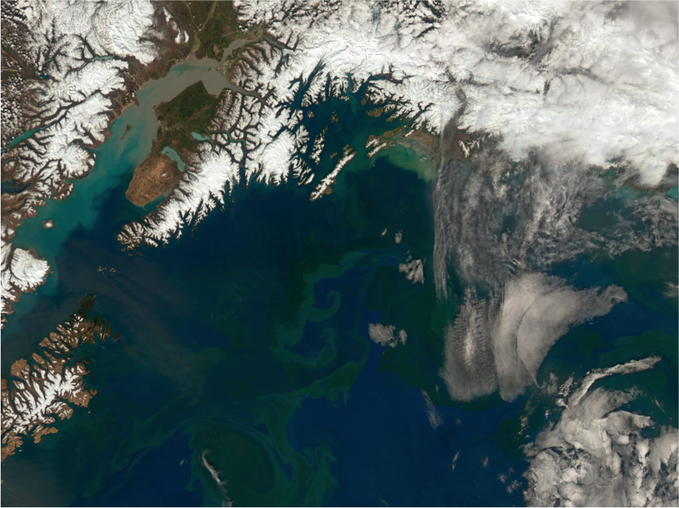 Satellite view of NGA