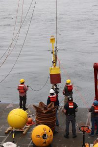 Deploying GEO mooring