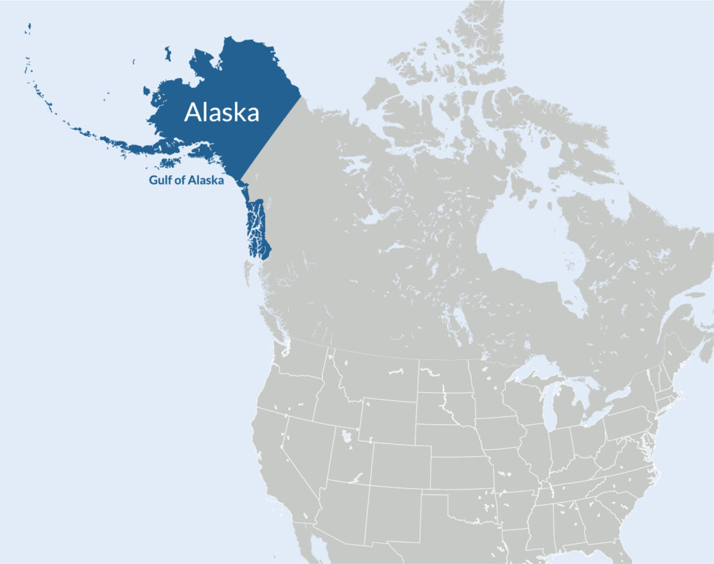 Alaska ecosystem map